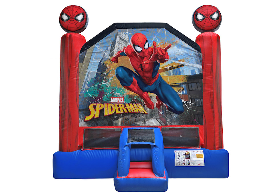 Spiderman bouncy house - Ultimate party and rental in Havelock, NC